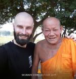 Встреча с Настоятелем Буддийского монастыря «4 Ветров» Тхоном