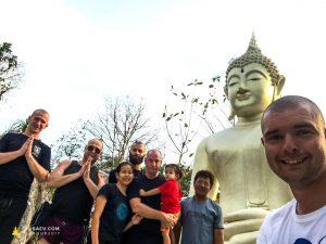 Экспедиции в Таиланд с Бодхисаттвой Скубаевым В.В. Лао-тур в Таиланде, Буддийский Храм, Буддийский Храм в Черкассах