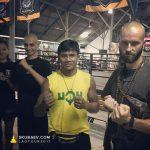 Состоялась встреча Бодхисаттвы Скубаева Владимира Владимировича и легендарного чемпиона по Тайском Боксу героя Таиланда Буакава Парамука