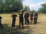 Ура!!! Первый день детского летнего лагеря в Храме «Белый Лотос»