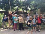 Второй день детского летнего лагеря в Храме «Белый Лотос»