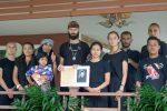 Бодхисаттва с учениками из Таиланда