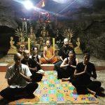 Бодхисаттва посетили горный Ашрам хранителей туннеля Нагов