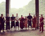 Беседа Бодхисаттвы в горном монастыре с монахами из Таиланда и Непала